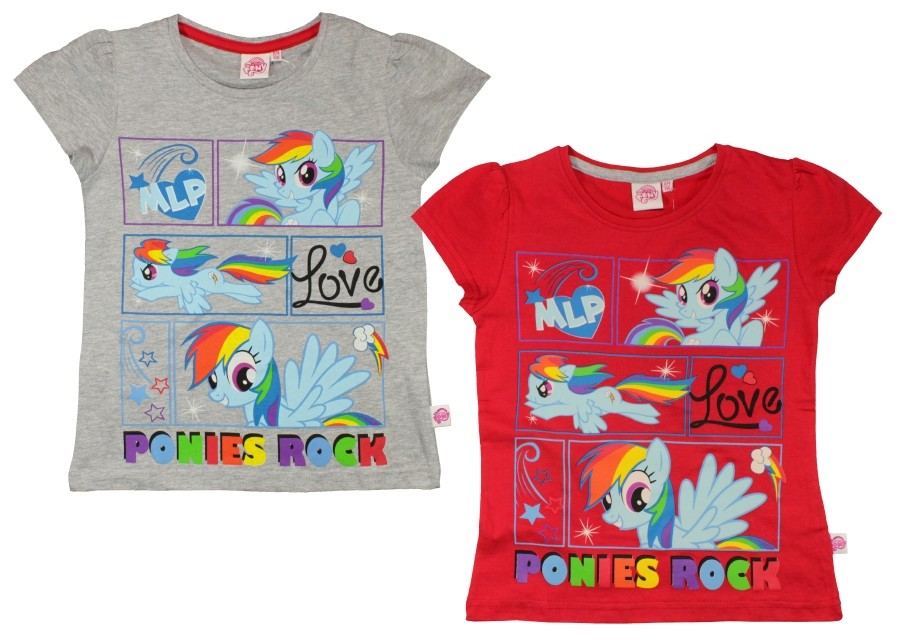 -30%eplusm, футболка my little pony радуга фото №1