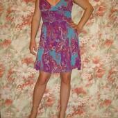 Платье, сарафан летнее ASOS шифон,вискоза р. 10