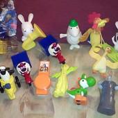 Игрушки из Макдональдса Барашек Шон