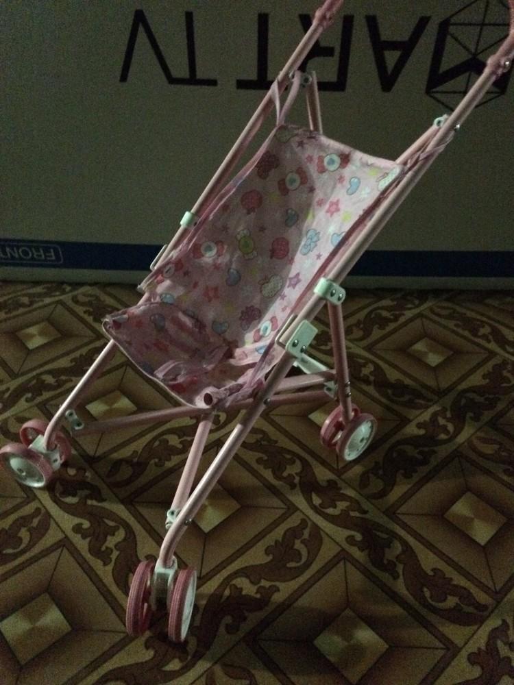 Детская металическая коляска фото №1