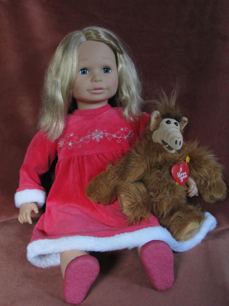 Кукла салли sally zapf creation 2008 65 см фото №1
