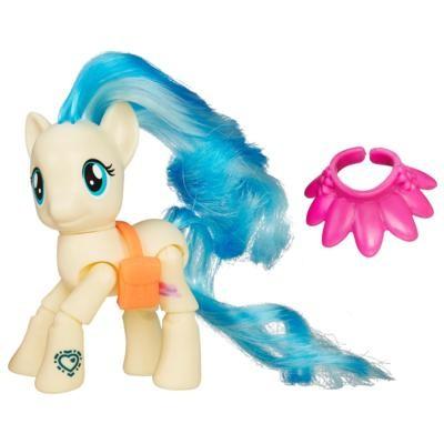 Hasbro my little pony фигурка пони с артикуляцией - коко поммель, b5679 фото №1