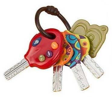 Развивающая игрушка супер ключики от battat фото №1