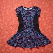 5-6 лет Нарядное платье F&F, б/у. Отличное состояние