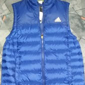 Пуховый жилет Adidas goose vest G72212-размер М(48-50).