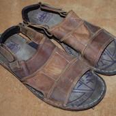 Кожаные сандали -босоножки