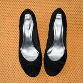 Мягенькие туфли Footglove 39р Натуральная замша