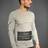 Реглан мужской sweatshirt, р. м, л, хл, ххл, код mvvk-1-16