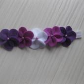 Пов'язки з фетру (5 квіточки)