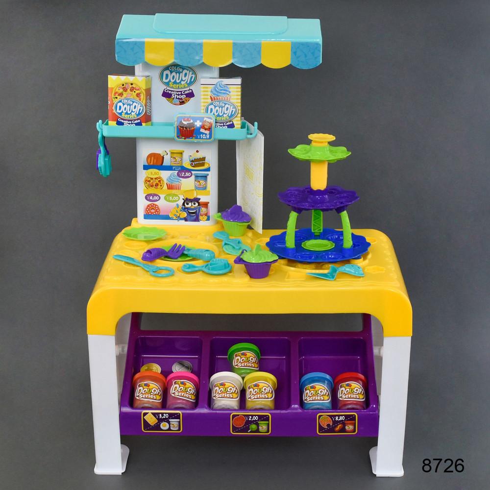 Колор дог кухня набор для лепки тесто color dough пластилин 8726 фото №1