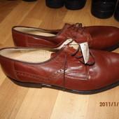 новые фирменные кожаные туфли 43 р UK 9, 5 Uberweit J