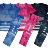 Летний спортивный костюм Adidas. Разные цвета.
