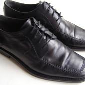 Кожаные туфли Guido Pasquali р.40-41 - 27см.