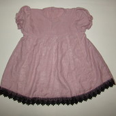 Красивое платье на девочку 1-2 года