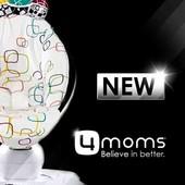 Новейший mamaRoo 4.0, укачивающий центр, качель мамару 4moms +коробка!