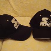 бейсболки starter . чёрные и синие . в наличии