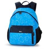 Рюкзак школьный с рисунком «сердечки», новинка