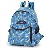 Школьный ранец из цветной ткани «круги», новинка