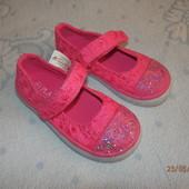 Туфли тканевые