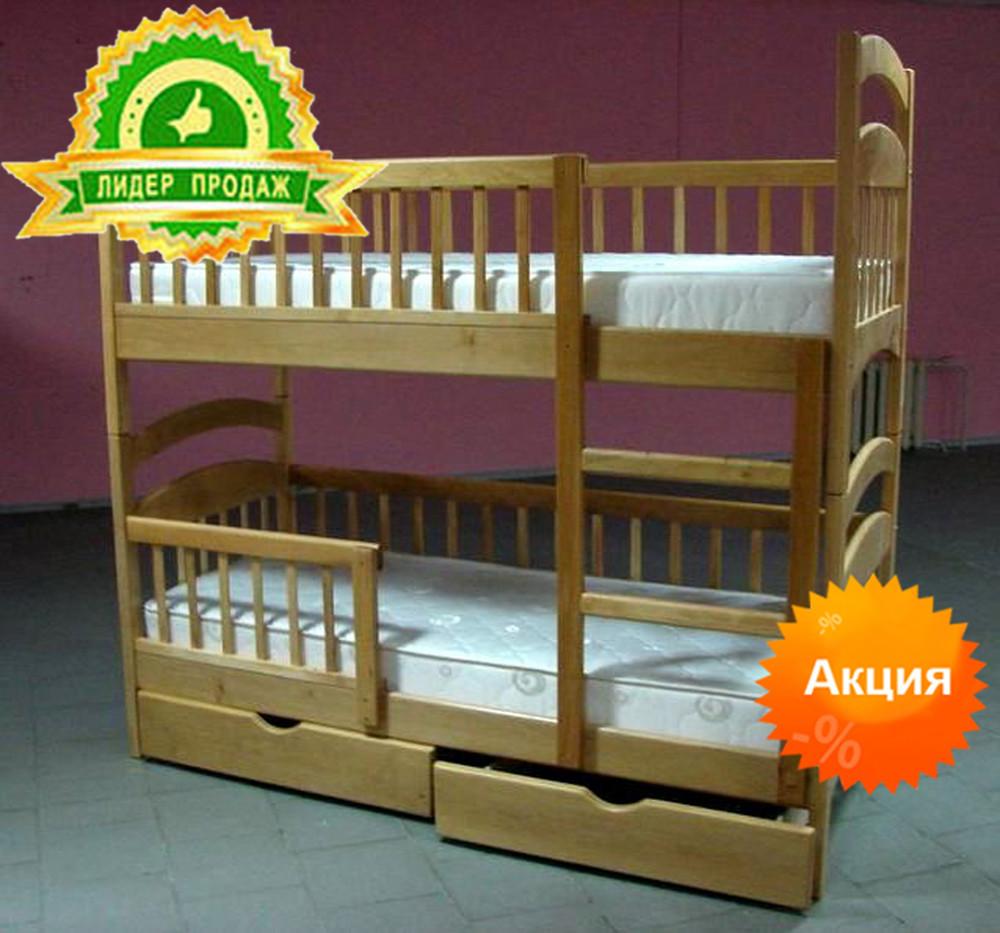 Двухъярусная кровать Карина Люкс по цене мебельной фабрики фото №1