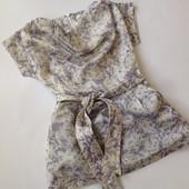 платье с интересным принтом для настоящей модницы