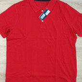 Поло футболка красная размер XL-56/58