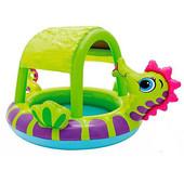 бассейн с навесом Intex  Морской конёк