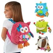 Милый детский рюкзак «Совенок» Sozzy, 2 цвета, новый