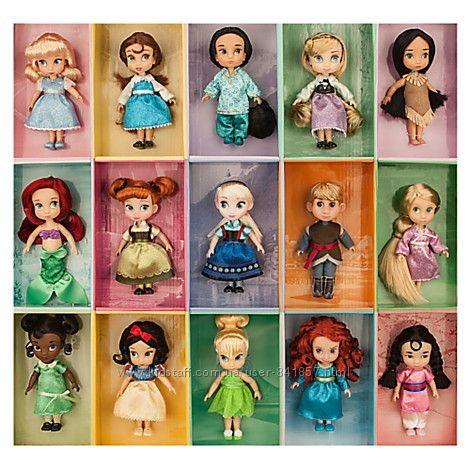 Куклы - мини аниматоры disney фото №1