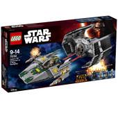 Lego star wars усовершенствованный истребитель TIE дарта вейдера и истребитель A-wing 75150
