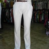 Классные брюки, летние 38,40 разм.