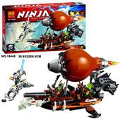 Конструктор Ninja 10448 Пиратский дирижабль , ниндзя, ниндзяго