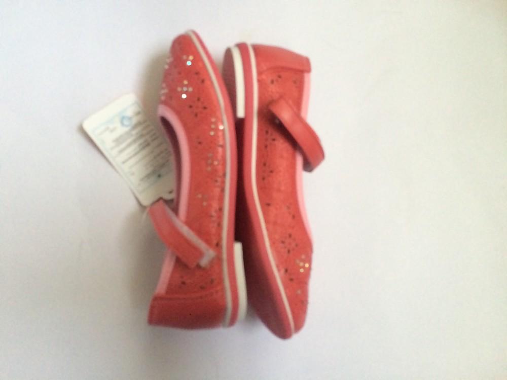 Туфли для девочки корал фото №5