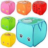 Новые Корзина для игрушек, вместительная 45 х 45 см