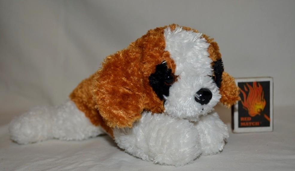 Удивительно нежный и красивый мягкий плюшевый щенок песик фото №1