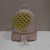 Стёганный рюкзак с сердцем Michael Kors blossom оригинал