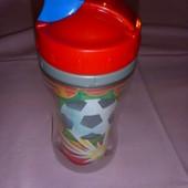 фирменный чашка-поильник с тубочкой