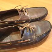 Мокасины, туфли кожаные 46р