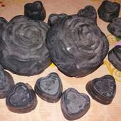 Гидрофильная плитка для умывания лица, тела/для снятия макияжа с черной глиной