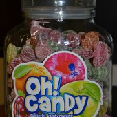 Карамельки ассорти, с натуральным фруктовым соком 1 кг в герметичной стеклянной банке, выкуп 14.06