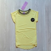 Новая яркая футболка для девочки. F&F. Размер 5-6 лет