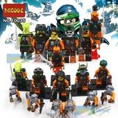 Ninja Minifigures Нинзяго минифигурки с обезьянами.