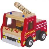Пожарная деревянная машина, Lelin (65-010)