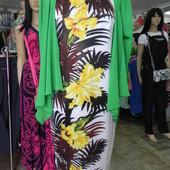 Интересное платье 46 разм двойка