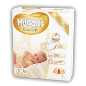Подгузники Huggies Elite Soft 2 Mega (4-7 кг) 88 шт.