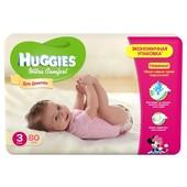 Подгузники Huggies Ultra Comfort 3 (5-9 кг) Mega для девочек 80 шт.