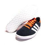 Мужские кроссовки Adidas Gazelle (Dark Blue & Orange)