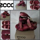 Качественные кожанные босоножки сандалии ECCO