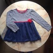 Платье фирмы TU на возраст 4-5 лет размер 104-110