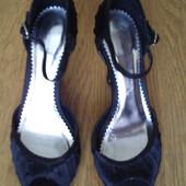 Туфлі шовковисті розмір 5/38  Dorothy Perkins